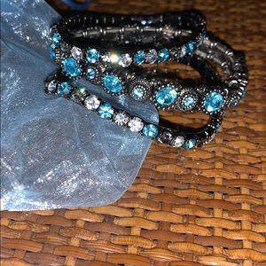 3 beautiful stretch bracelets